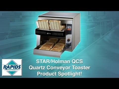 STAR Holman QCS Quartz Conveyor Toaster Spotlight (Review) from RapidsWholesale.com