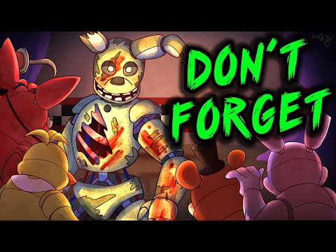 """FNAF SONG """"Don't Forget"""" [LYRICS]"""