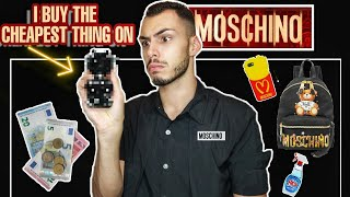 Αγοράζω το πιο φθηνό πράγμα από MOSCHINO | Tsede The Real