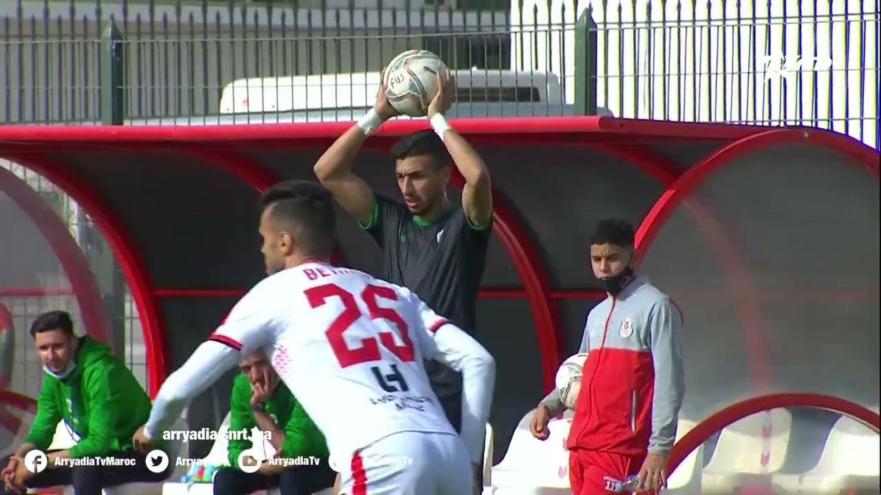 الفتح الرياضي 0-1 مولودية وجدة هدف آدم النفاتي في الدقيقة 28.