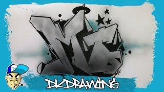 How to draw graffiti names - Mo #21