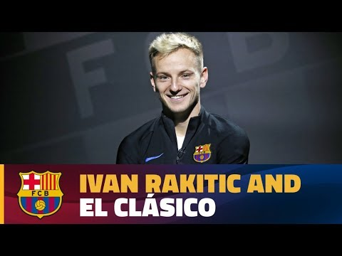 Interview with Ivan Rakitic before 'El Clásico'