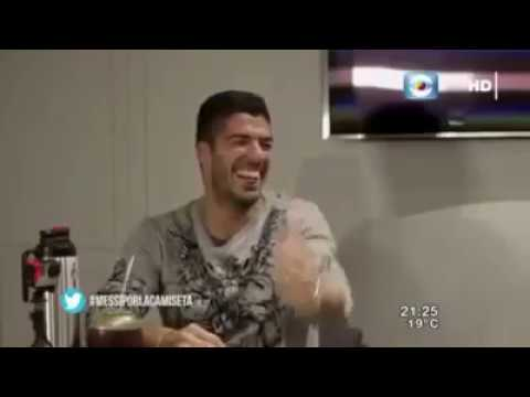 Funniest Interview ever with Luis Suarez and Lionel Messi