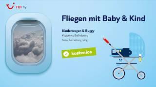 Baby & Kind im Flugzeug ✈ TUI fly