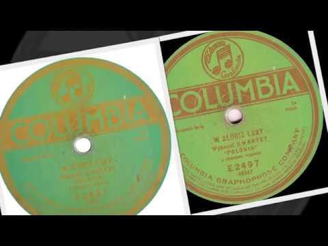 Polish 78rpm recordings, 1915. Columbia E2497. W żłobie leży - Christmas song