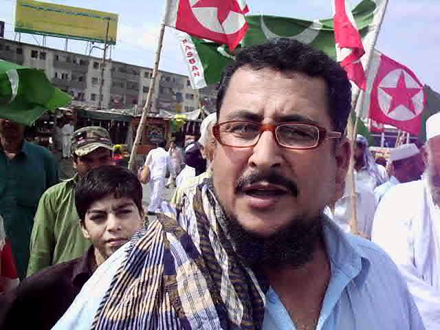 Pushto speech by Haji Ghulam Mohammad against the target killing & Karachi disturbance.AVI Travel Video