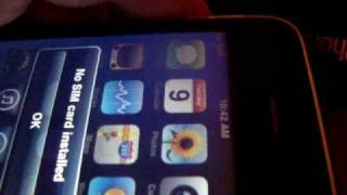 """No SIM card installed"" Iphone problem error temporary fix"