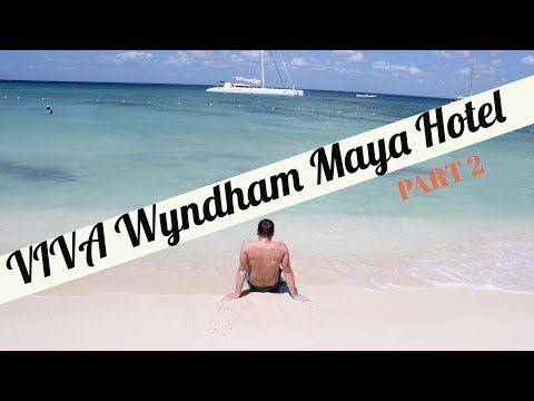VIVA Wyndham Maya In Playa Del Carmen Mexico  / Мексика. May 2017 Part 2. Beach / Strand / Пляж.