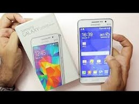 Samsung Galaxy GRAND Max- unboxing and quick review..