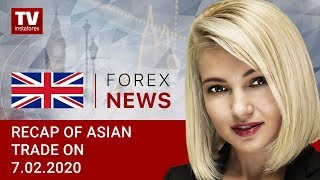 InstaForex tv news: 07.02.2020: USD asserts strength ahead of NFP report: outlook for USD/JPY, AUD/USD.
