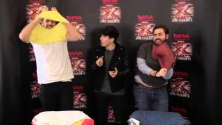 The X Factor Live Tour 2015: #TalkTalkFibreFast Speed Challenge with Ben Haenow & Andrea Faustini