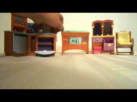 Fisher-Price Loving Family Twin Time Dollhouse Accessories