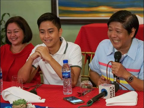 Sen. Bongbong Marcos - Lunch with the Entertainment Press