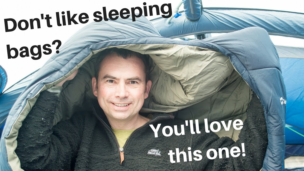 660d53d2afc A sleeping bag   duvet hybrid - YouTube