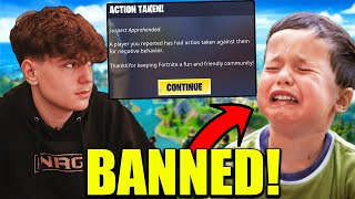 Clix Makes Kid CRY After Getting Him BANNED For Stream Sniping!