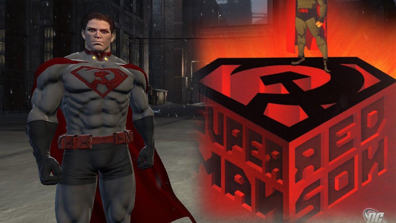 Batman: Arkham Origins: Red Son Superman! - YouTube