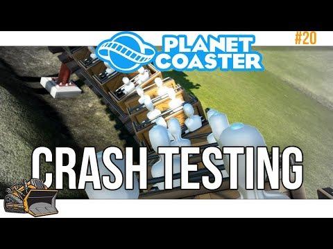 Train Crash Simulator | Planet Coaster Train Coaster work in progress #20