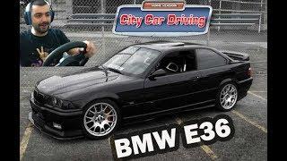 BMW e36 /Test Drive/ City Car Driving #10