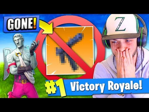 They're REMOVING THIS GUN from Fortnite: Battle Royale!