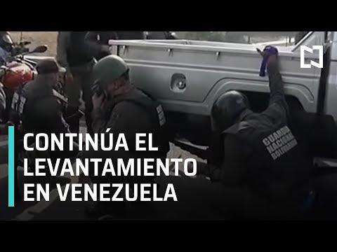 Información de última hora: Cobertura especial tras levantamiento de Juan Guaidó en Venezuela