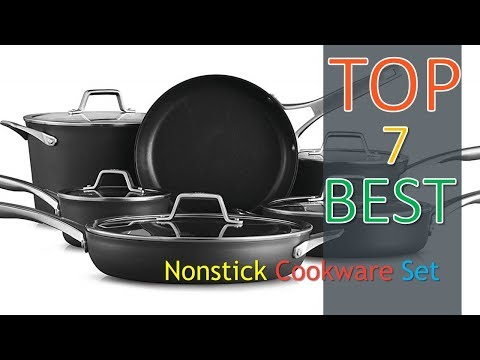 ❤❤✿ The Best 7 Nonstick Cookware Set with customer reviews