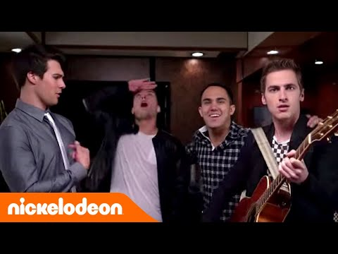 Big Time Rush | Big Time Tour-Bus (Song: Crazy For U) | Nickelodeon Deutschland
