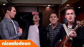 Big Time Rush - Big Time Tour-Bus (mit Victoria Justice! Song: Crazy For U)