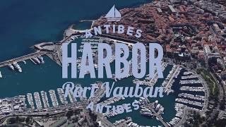 Antibes Harbor - Port Vauban in Antibes, France