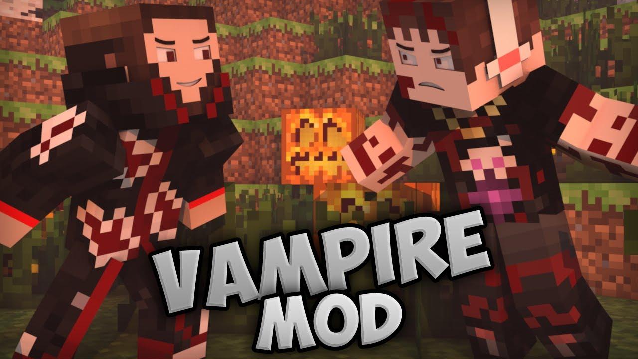как стать вампиром в майнкрафт мод 1.10.2 #10