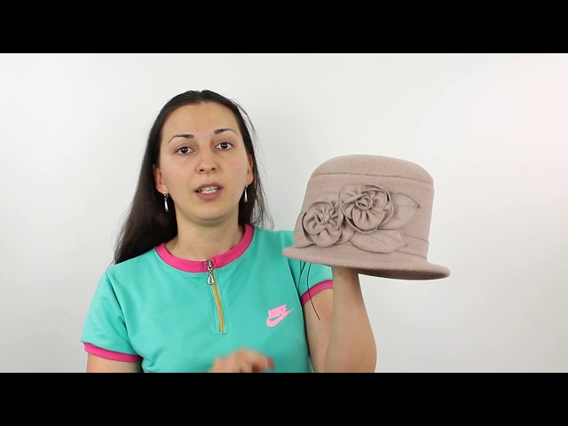 Шляпа, Климена Бежевая