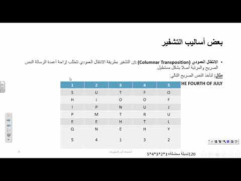 Day 4 -   Security & Encryption In C# New (Arabic)