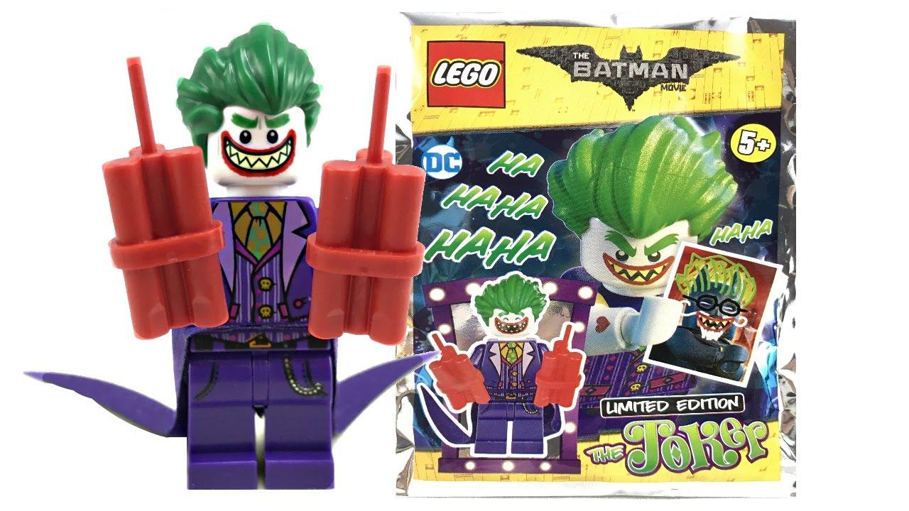 HARLEY QUINN minifigure: BATMAN 4 x LEGO BATMAN Magazine JOKER limited