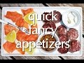 Dinner Party Tonight Tips: Quick Fancy Appetizers