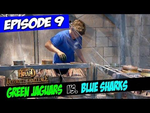 Green Jaguars Vs. Blue Sharks | Series 4 | Fort Boyard: Ultimate Challenge