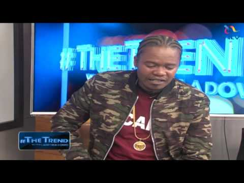 Juacali: Only those who work hard in the music industry will make it #theTrend
