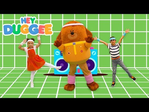 Eggs Get Physical! - Dance With Duggee - Hey Duggee