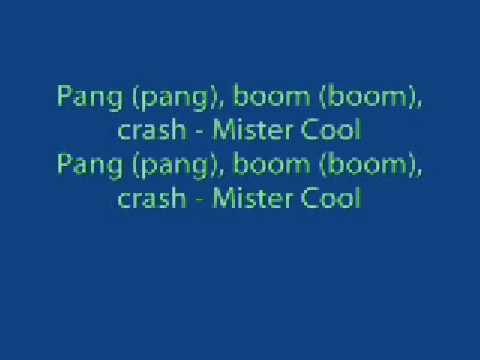 Snook- Mr Cool Lyrics
