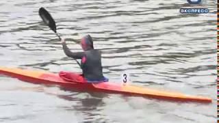 Пензенские подростки соревновались в гребле на байдарках и каноэ