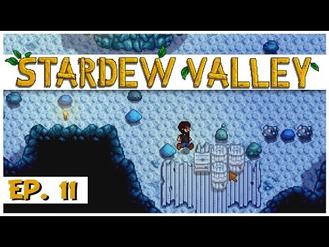 Stardew Valley - Ep. 11 - Finding Iron Ore! - Let's Play Stardew Valley Gameplay