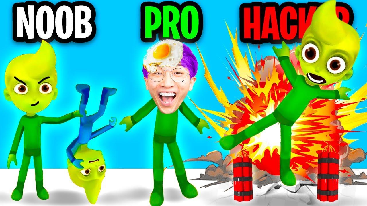 Can We Go NOOB vs PRO vs HACKER In THE SIBLINGS 2020!? (LANKYBOX PRANKS!)