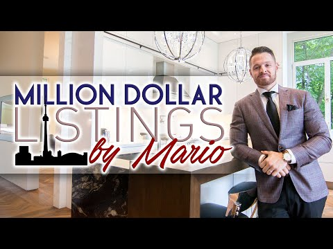 Million Dollar Listings By Mario! Luxury Homes In Toronto! Episode 2