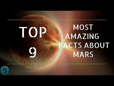 Top 9 Most Amazing Facts about MARS