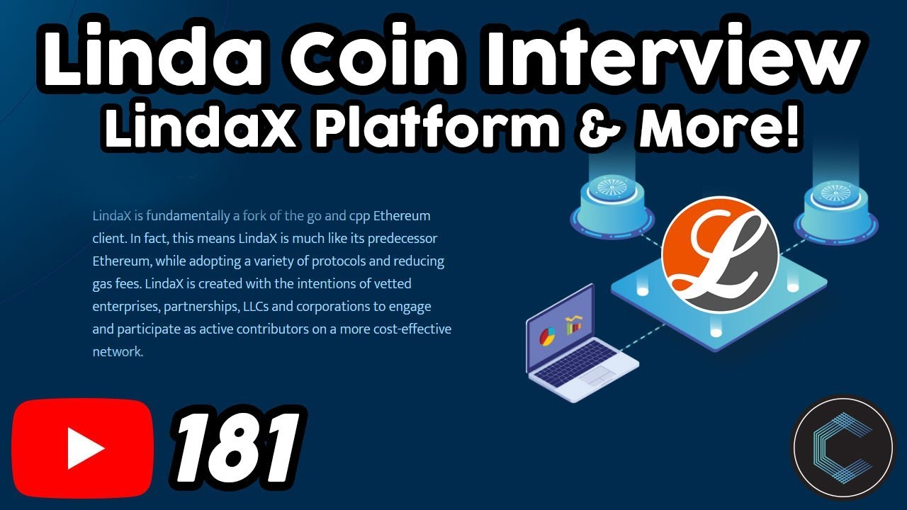 Linda Coin Interview with CTO Stephen Newton - LindaX - MyStakingWallet - MyNodePool
