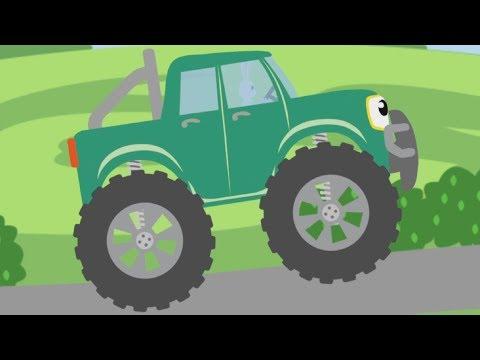 МАШИНКИ БИП БИП - Без перерывов 1 час - Детская песня про животных
