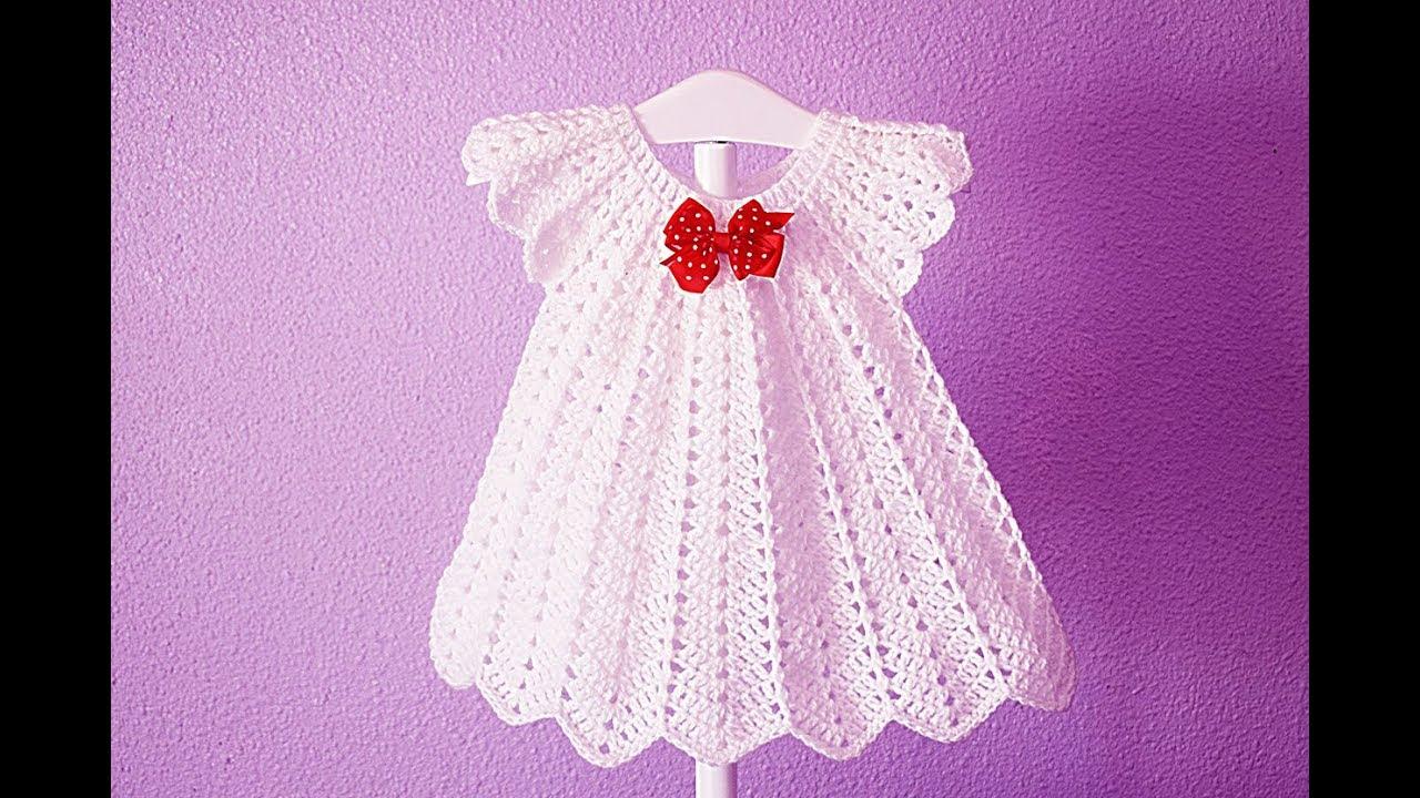 Crochet Christmas party dress white Majovelcrochet # ...