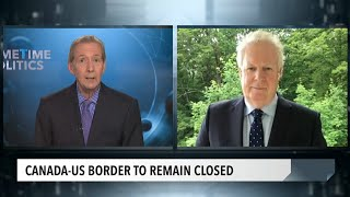 Public health and U.S.-Canada border task force member Jean Charest on border restrictions
