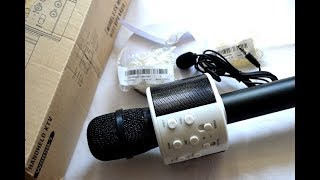 Мои покупки/Товары для хобби/Рукоделие/Караоке микрофон/Shopping For Hobby