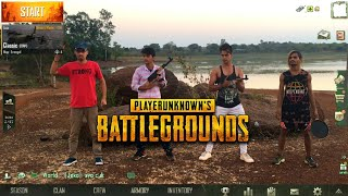 PUBG MOBILE : Pubg In Real Life | Indian Version