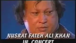 Akhiyaan Udeek Diyan Punjabi Ustad Nusrat Fateh Ali Khan Live UK Subtitles
