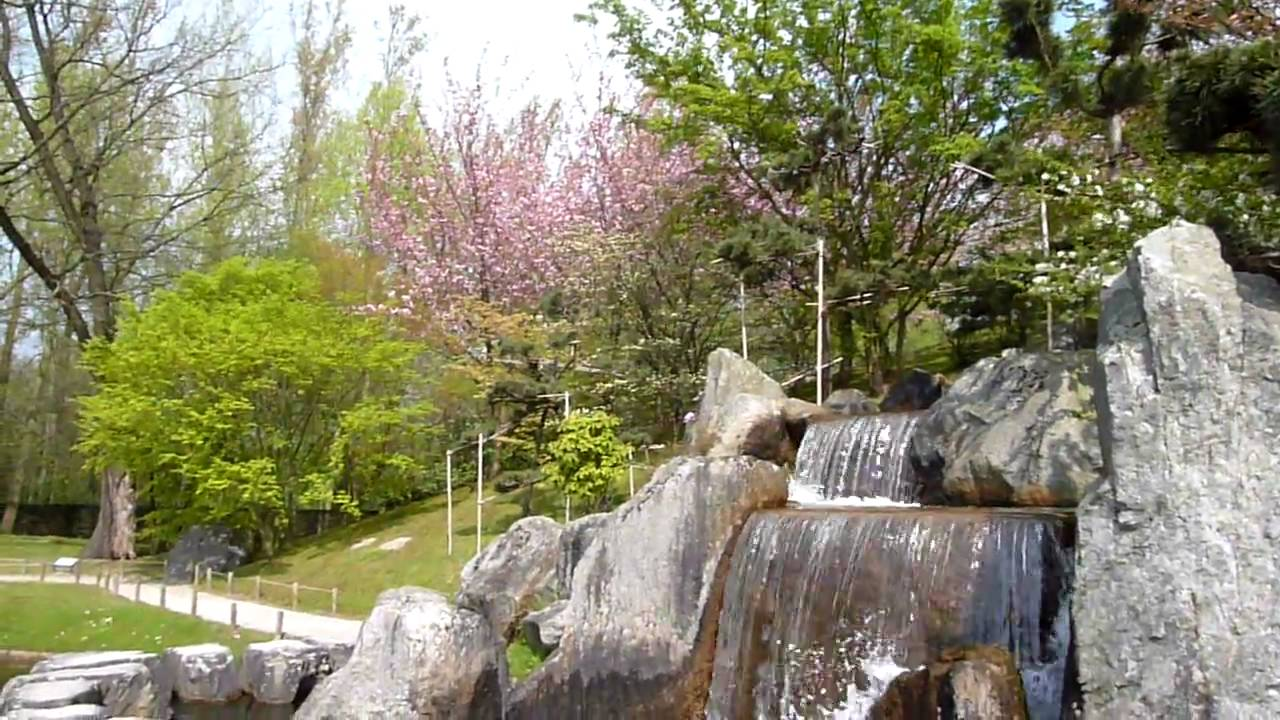 Waterval In Tuin : Japanse tuin waterval